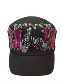 Dance Mom Rhinestone Hat