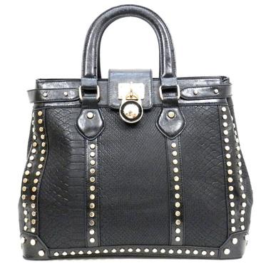 Rhinestone Padlock Handbag
