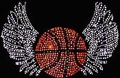 Basketball w/Wings