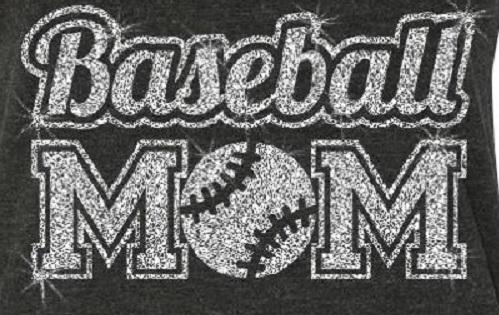 Blingy Baseball Mom Flowy Tank
