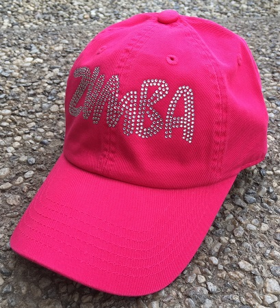 Zumba Baseball Style Hat - Hot Pink
