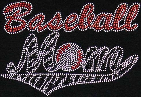 Baseball Mom - Zebra Tail