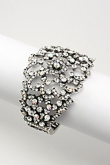 AB Crystal Fashion Bracelet