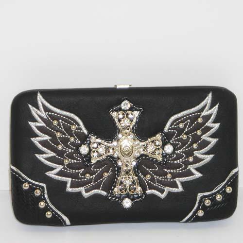 Heart, Wings & Bling Wallet
