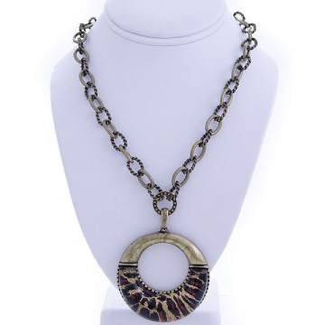 Animal Prints Charm Necklace-Gold
