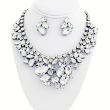 Crystal & Rhinestone Necklaces