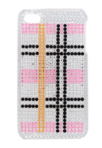 Crystal Plaid iPhone 4 Cover