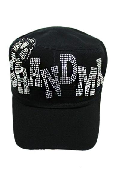 Soccer Grandma Rhinestone Cadet Hat