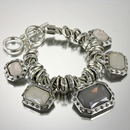 Stone Link Bracelet