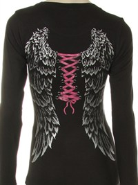 Shimmer Wings L/S Shirt
