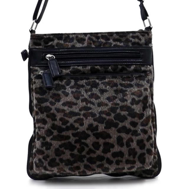 Snow Leopard Cross Body Bag