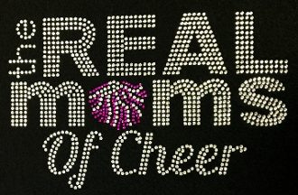 The Real Moms of Cheer Rhinestone Design