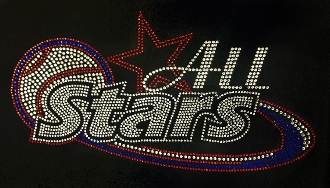 All-Stars Rhinestone Design