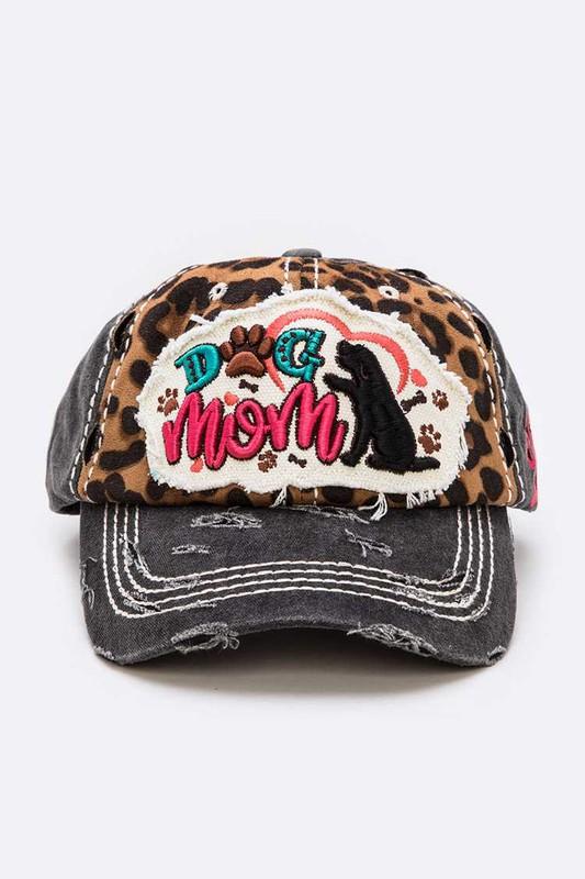 Dog Mom Vintage Baseball Hat