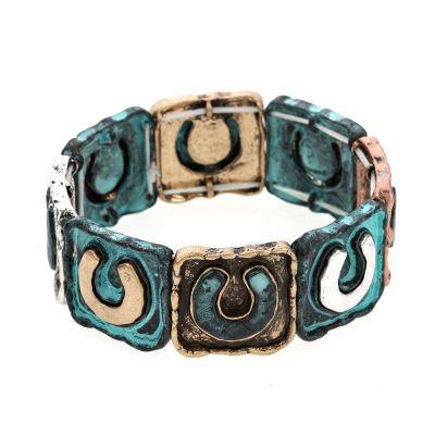 Horseshoe Stretch Bracelet - Multi Color