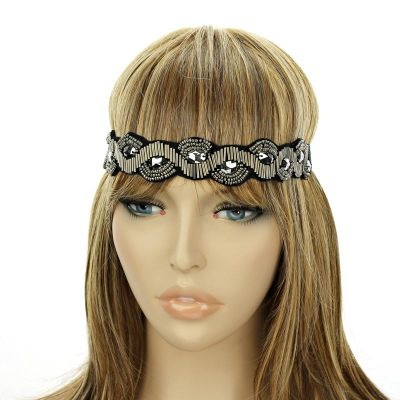 Fashion Headband - Hematite Color