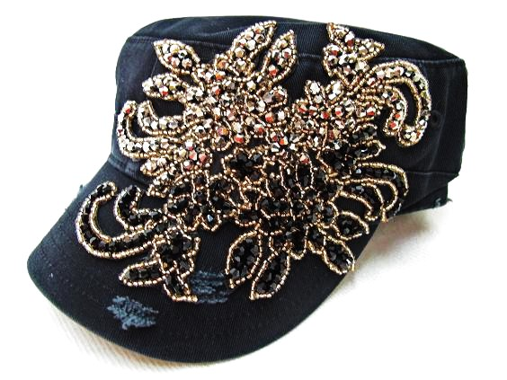 Bling Rhinestone Hats & Caps