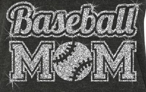 Blingy Baseball Mom Flowy Tank