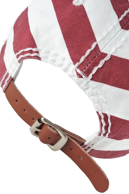Stars & Stripes Bling Baseball with Cross by Olive & Pique