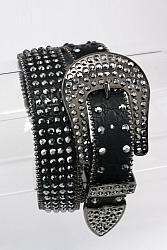 #BT-6690 Western Bling Crystal Embellished Belt