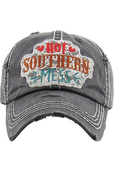 Hot Southern Mess Baseball Hat
