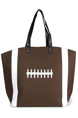 Game Day Football Theme Tote