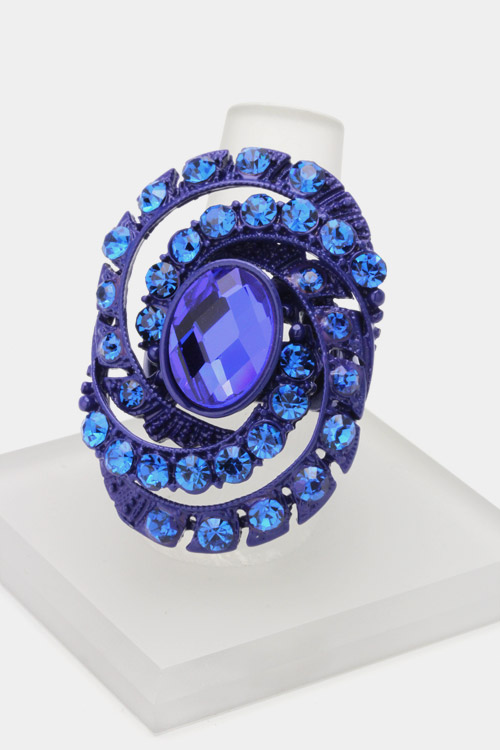 Crystal Vortex Stretch Ring