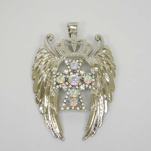 Wings and Bling Pendant