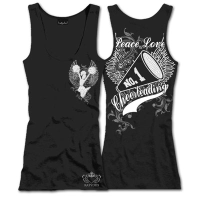 Black Peace, Love, CHEER TANK TOP