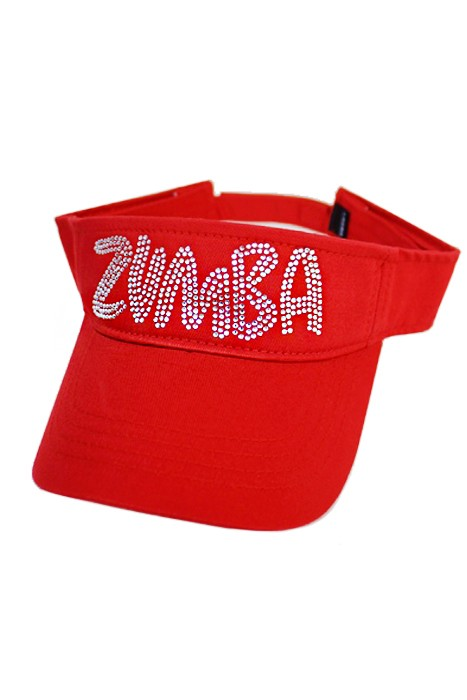 Zumba Visor - Red
