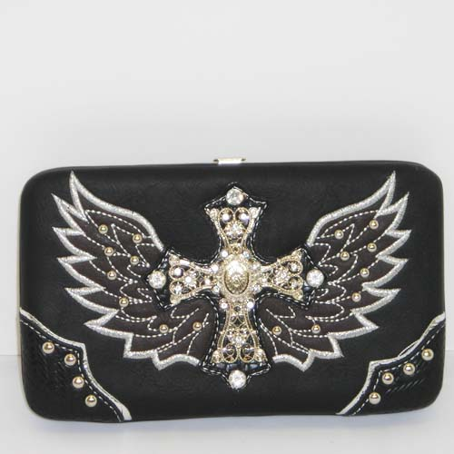 Heart, Wings & Bling Wallet