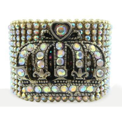 Rhinestone Cuff/Bracelet - Gold