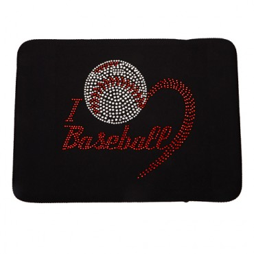 I Heart Baseball iPad Cover