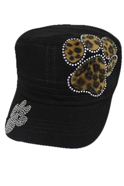 Paw Print Cheetah and Stones - Cadet Style